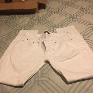 White Levi super low jeans 11.